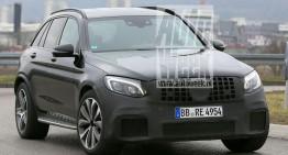 Mercedes-AMG GLC 63 dezvăluit în cele mai clare fotografii spion de până acum