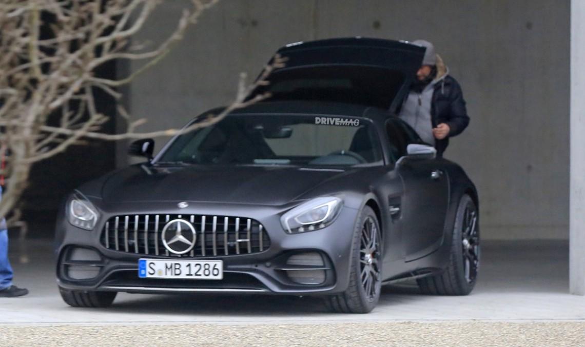 Mercedes-AMG GT C Coupe cu 557 CP este aici – PRIMELE FOTOGRAFII