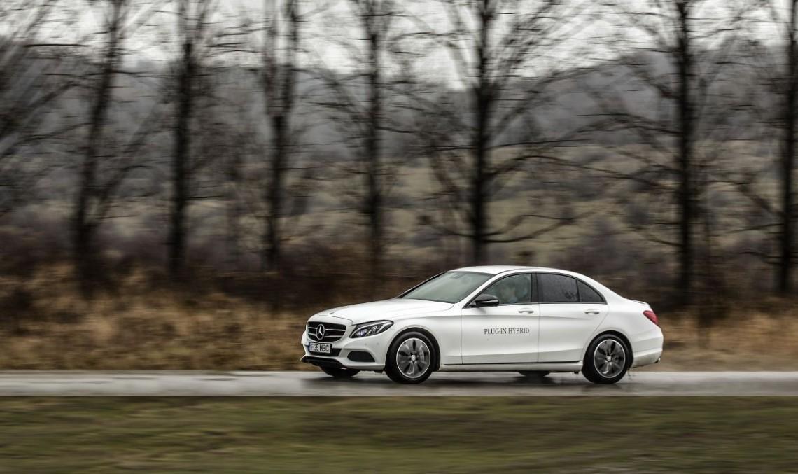 Test Mercedes-Benz C 350 e: Lux electrizant