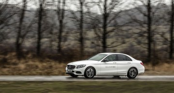 Test Mercedes-Benz C 350 e: Lux electrizant