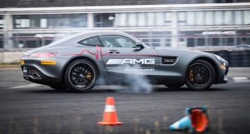 Când timpul stă în loc – AMG Driving Academy face Mannequin Challenge