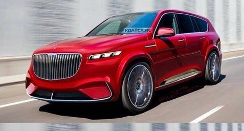 Oare așa va arăta SUV-ul Mercedes-Maybach? Așteptăm 2018 ca să vedem!
