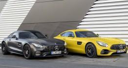 Anul mașinilor sport – Mercedes-AMG GT S facelift și Mercedes-AMG GT C Coupe vin la Detroit