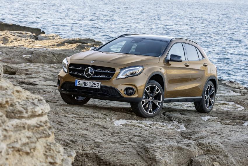 În formă de zile mari – Primul trailer cu noul Mercedes-Benz GLA