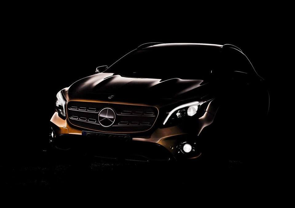 Noul Mercedes-Benz GLA facelift își arată liniile sexy în prima fotografie oficială