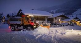 Unimog U 430 – Hai afară la zăpadă!