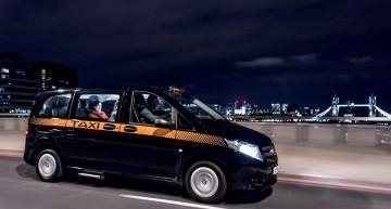 Să luăm un taxi! Mercedes-Benz lansează Vito Taxi în Londra