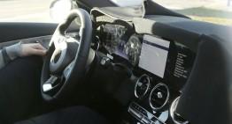 Mercedes C-Class facelift primește bordul de la S-Class – PRIMELE FOTOGRAFII