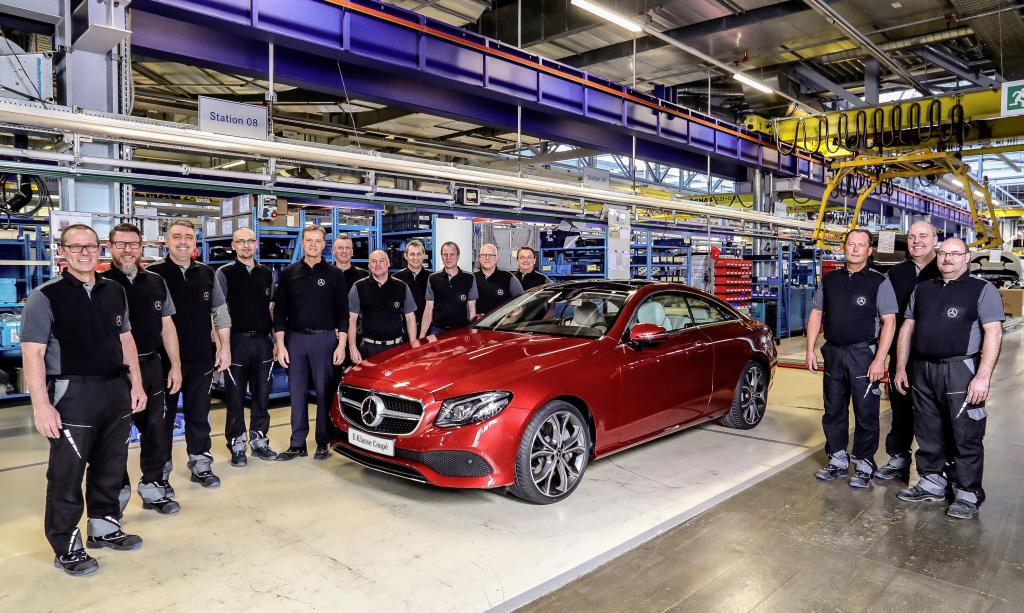 La Bremen începe producția noului Mercedes E-Class Coupe