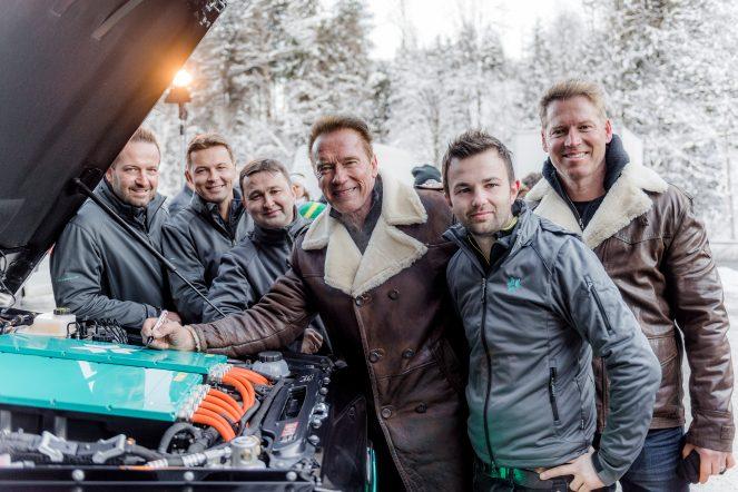 Kreisel: Mercedes G-Class electric pentru Arnold Schwarzenegger