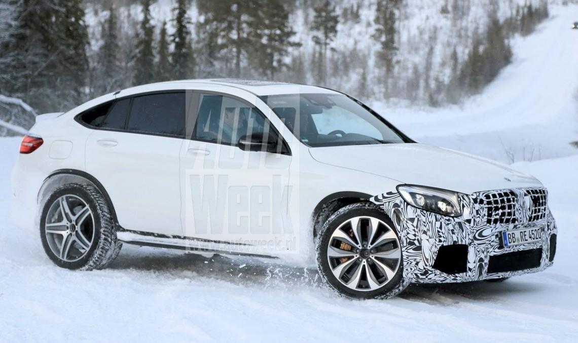 Mercedes-AMG GLC 63 se pregătește de ținuta Coupe – PRIMELE FOTOGRAFII