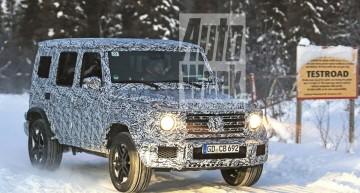 NOUL Mercedes-Benz G-Class se arată în premieră