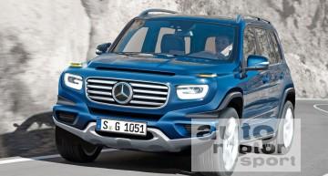 Mercedes GLB: SUV de familie cu șapte locuri – PRIMELE FOTOGRAFII SPION