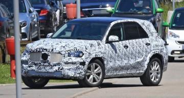 Noul Mercedes GLE sosește în 2018. Noi fotografii spion