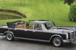 Istorie de vânzare – Un Mercedes-Benz 600 Pullman Laundelet care i-a aparținut dictatorului Tito este de vânzare