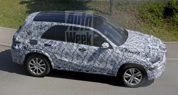 Noul Mercedes GLE filmat în premieră