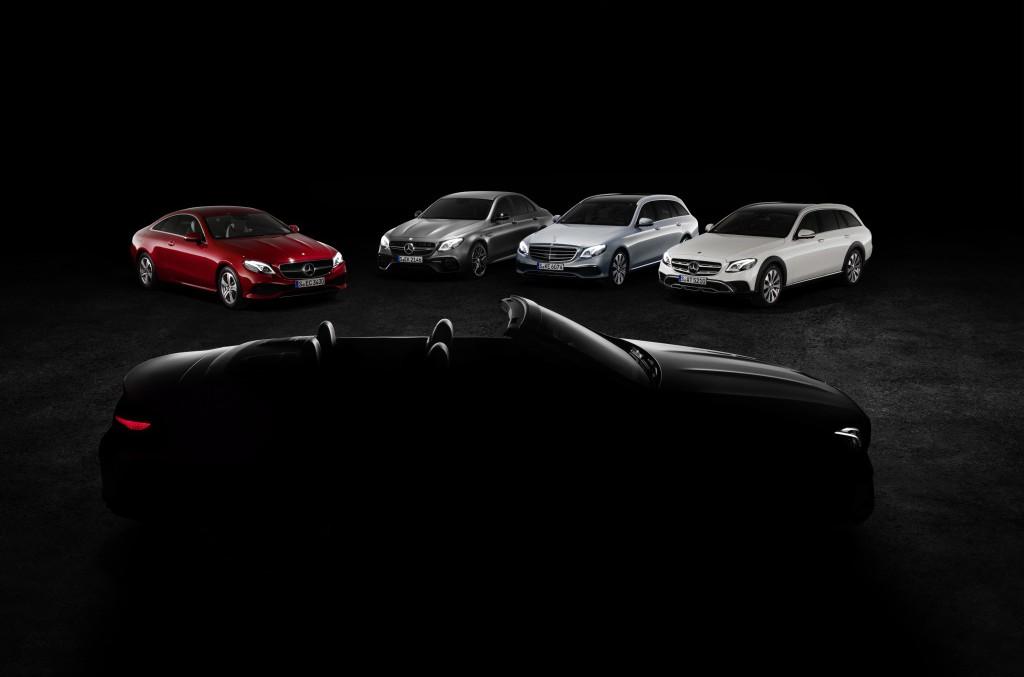 Familia E-Class aproape completă – Mercedes-Benz E-Class Cabrio apare într-o fotografie