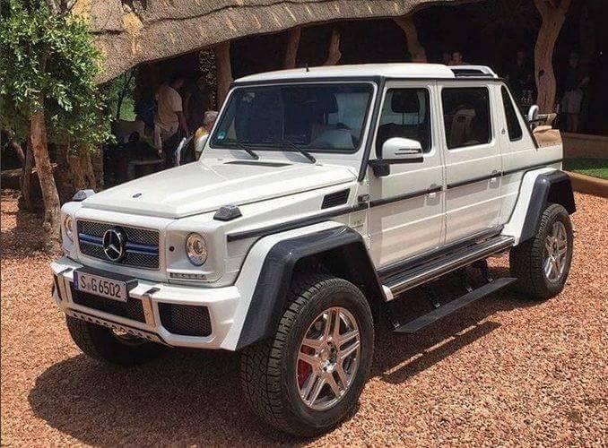 Mercedes nu poate ține un secret! Mai multe fotografii cu Mercedes-Maybach G 650 Landaulet, iată și interiorul