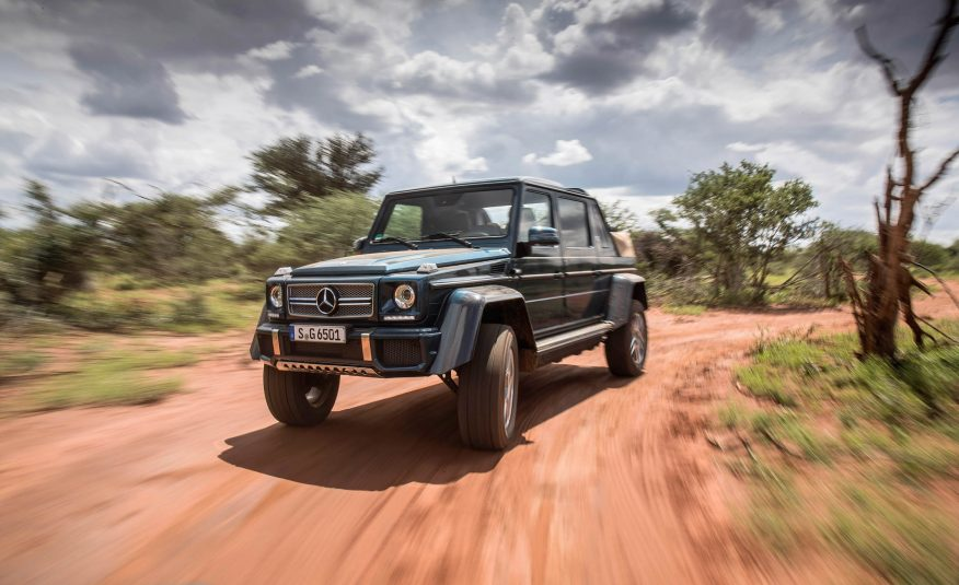 STOC EPUIZAT – Toate modelele Mercedes-Maybach G 650 Landaulet s-au vândut
