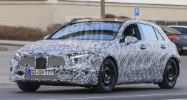 Noul Mercedes A-Class vine anul viitor – NOI FOTOGRAFII SPION