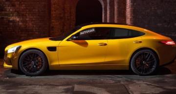 Mercedes-AMG GT4: AMG GT cu patru uși sosește luna viitoare
