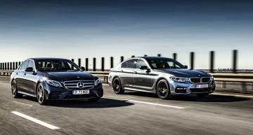 Punct de convergență: Mercedes E 400 4Matic vs. BMW 540i xDrive