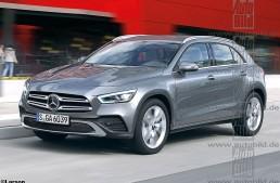 Noul Mercedes GLA crește, devine electric