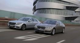 Testul limuzinelor de lux Plug-in Hybrid: Mercedes S 500 e versus BMW 740Le