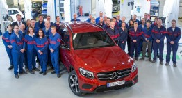 Made in Finlanda: A început asamblarea lui Mercedes GLC la Valmet