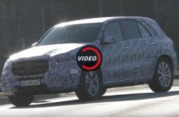 Mercedes GLE 2018, cu mai puțin camuflaj – imagini noi