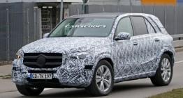Mercedes GLE 2018 își arată în premieră interiorul