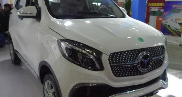 Made in China! Chinezii au contruit Luxing iStar, un fel de Mercedes