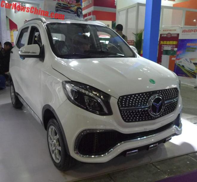 Made in China! Chinezii au contruit Luxing iStar, un fel de Mercedes