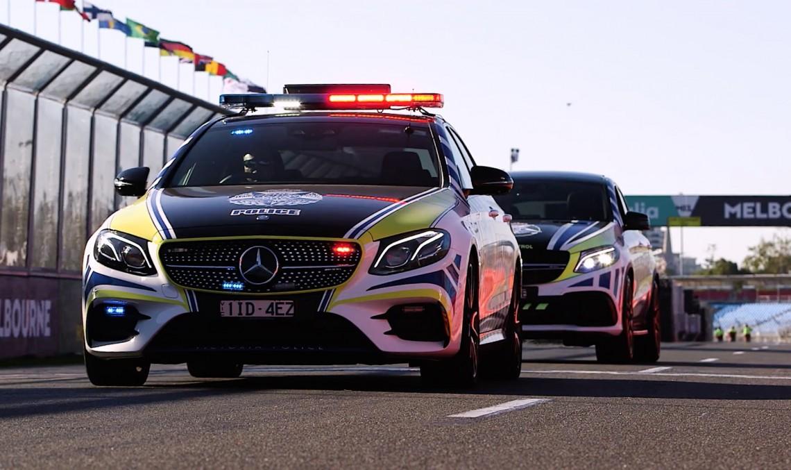 Asta da flotă! Mercedes-AMG E43 va fi mașină de poliție în Australia