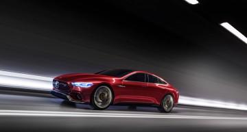 Conceptul Mercedes-AMG GT – Prima mașină hibrid ultra-performantă de la AMG