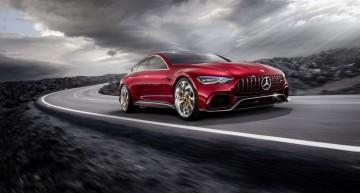 Ascultă cum tună motorul! Primul video în care apare conceptul Mercedes-AMG GT