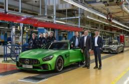 Pe locuri, fiți gata, start! Producția a trei modele Mercedes-AMG GT a început la Sindelfingen!