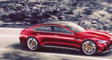 Mercedes-AMG GT4 este aici! Un video cu GT-ul cu patru uși a ajuns pe internet