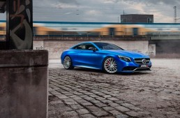 Nebunie pe roți! Un Mercedes-AMG S63 Coupe S tunat de Fostla