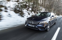 Da, mamă, sunt hipnotizată! Test cu cea mai inteligentă limuzină business, Mercedes-Benz E-Class