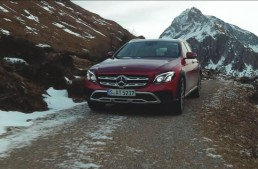 Mercedes-Benz E-Class All-Terrain se dă mare într-un nou clip