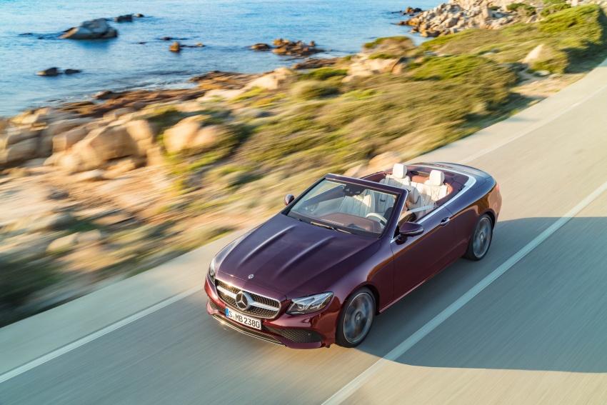 Noul Mercedes E-Class Cabrio, în România de la 54.228 euro