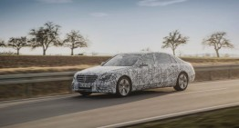 Mercedes-Benz S-Class 2017 – primul test ca pasager la bordul super limuzinei