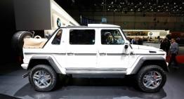 LIVE DE LA GENEVA: Mercedes-Maybach G 650 Landaulet de 750.000 de euro