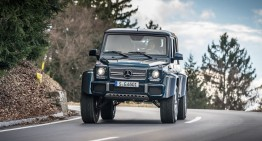Ultimul Mercedes-Maybach G650 Landaulet va fi scos la licitație în scopuri caritabile