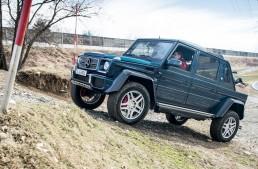 TEST Mercedes-Maybach G 650 Landaulet: G-ul decapotabil de 750.000 de euro