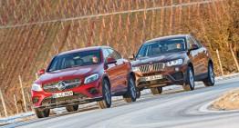 BMW X4 versus Mercedes GLC Coupe: SUV-urile coupe cu patru cilindri