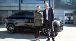 Simona Halep, noul ambasador Mercedes-Benz în România