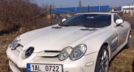 Dat uitării: McLaren-Mercedes SLR condamnat să rămână nemișcat