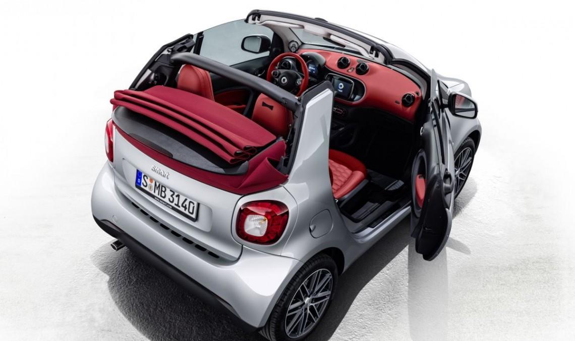 Smart Brabus Edition #2 Cabrio și Forfour Crosstown vin la Geneva